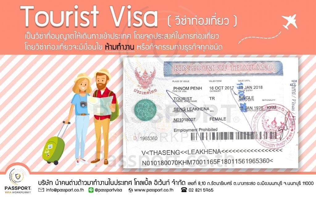 Tourist Visa (วีซ่าท่องเที่ยว)